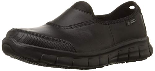 Skechers for Work Women  s 76536 Sure Track Slip Resistant Shoe