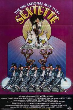 DVD cover from the 1978 filmSextette
