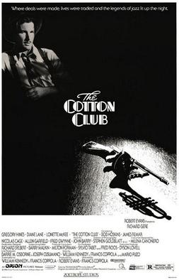 the original poster of the film The Cotton Club
