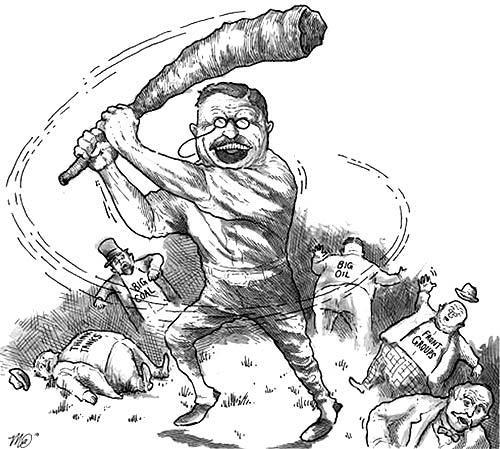 Theodore Roosevelt Cartoons