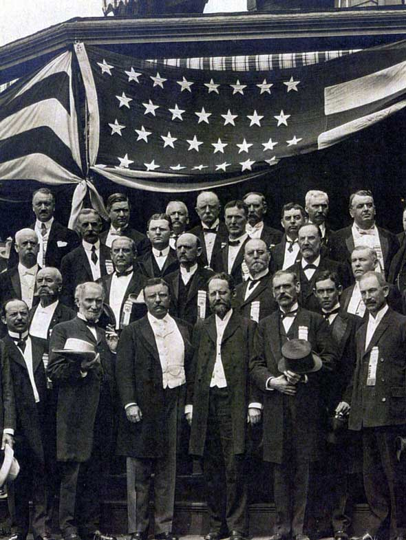 Theodore Roosevelts Political Party
