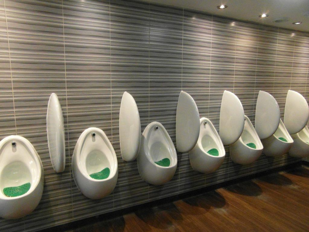 multiple urinals