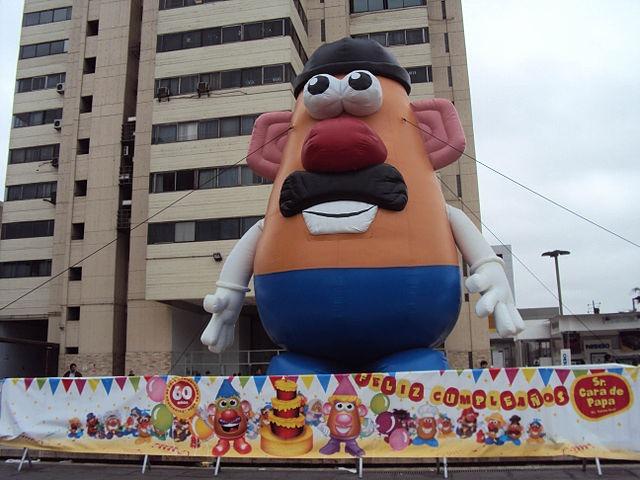 Mr. Potato Head, meet Dorothy. Dorothy, meet Mr. Potato Head
