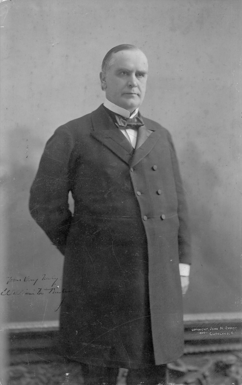 William McKinley, by John H Ryder