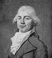 James Monroe's portrait in 1794