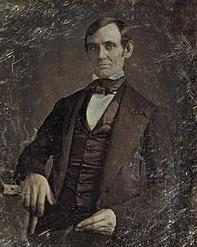 Abraham Lincoln's portrait in 1846