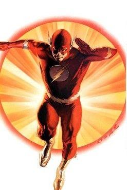 Barry Allen, art by Alex Ross