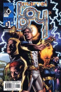 Marvel Boy #1 art cover by J.G. Jones