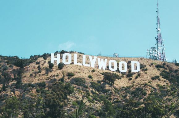 Hollywood sign in LA, California