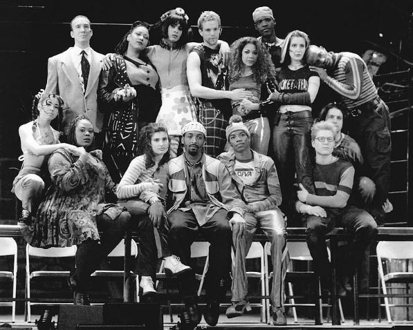 The original Broadway cast of Rent