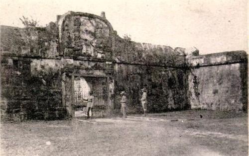 Gate of Fort San Antonio de Abad
