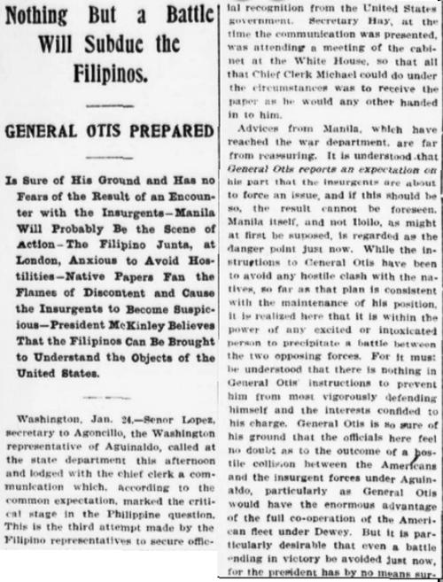 Manila situation, text 1