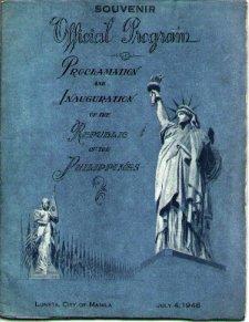 Official Program Phil Ind July 4 1946