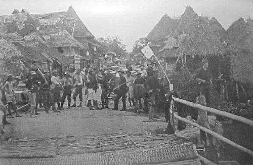 Paranaque day after surrender June 11 1899
