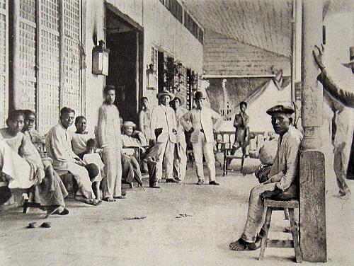 Teatro Caviteno, Aguinaldo's hq at Cavite Nuevo , 1898_opt