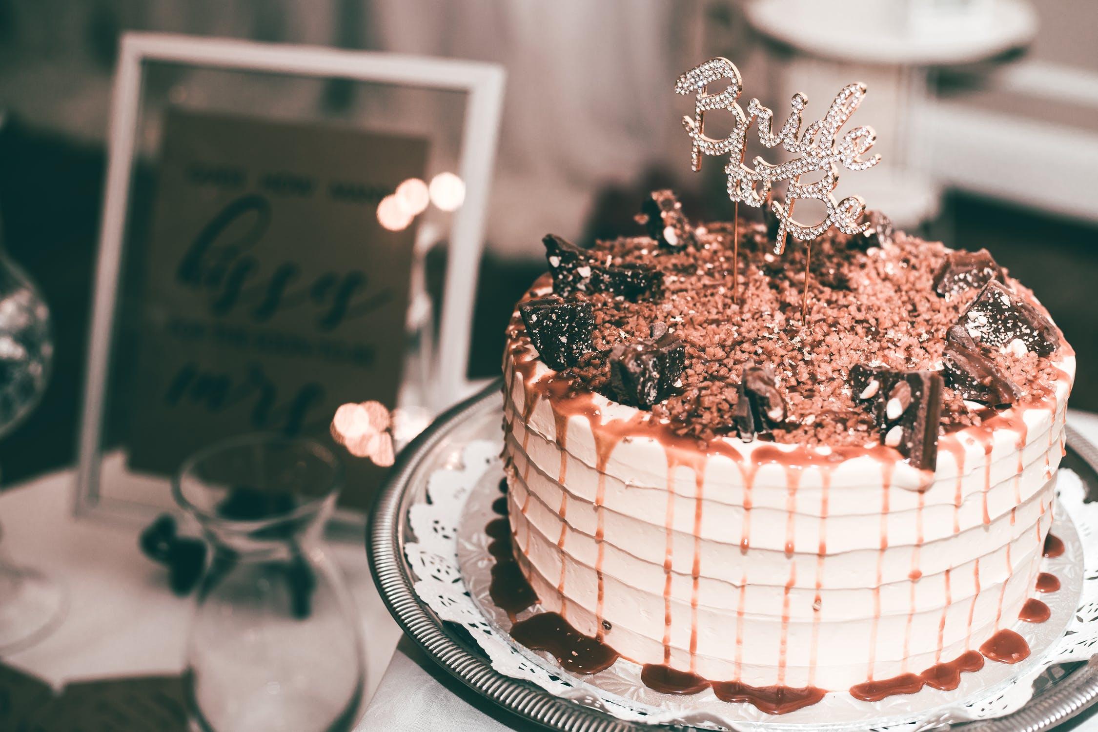 8 Fun Cake Designs For A Bridal Shower