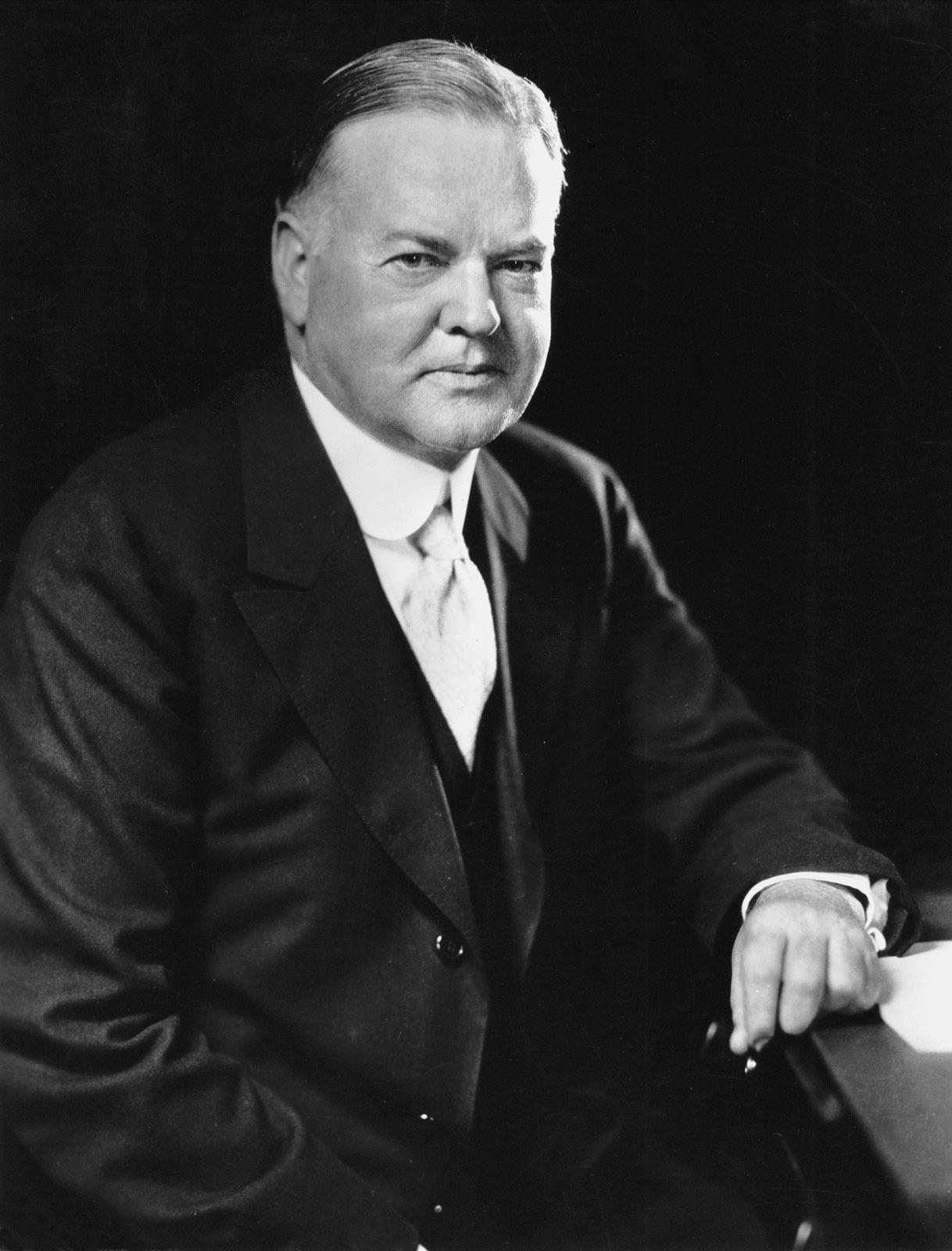 Portrait of Herbert Hoover