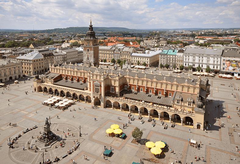 Cloth Hall and Main Market Square, Krakow